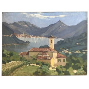 Daniele Fontana La Chiesa Di Santo Stefano A Cernobbio 1927