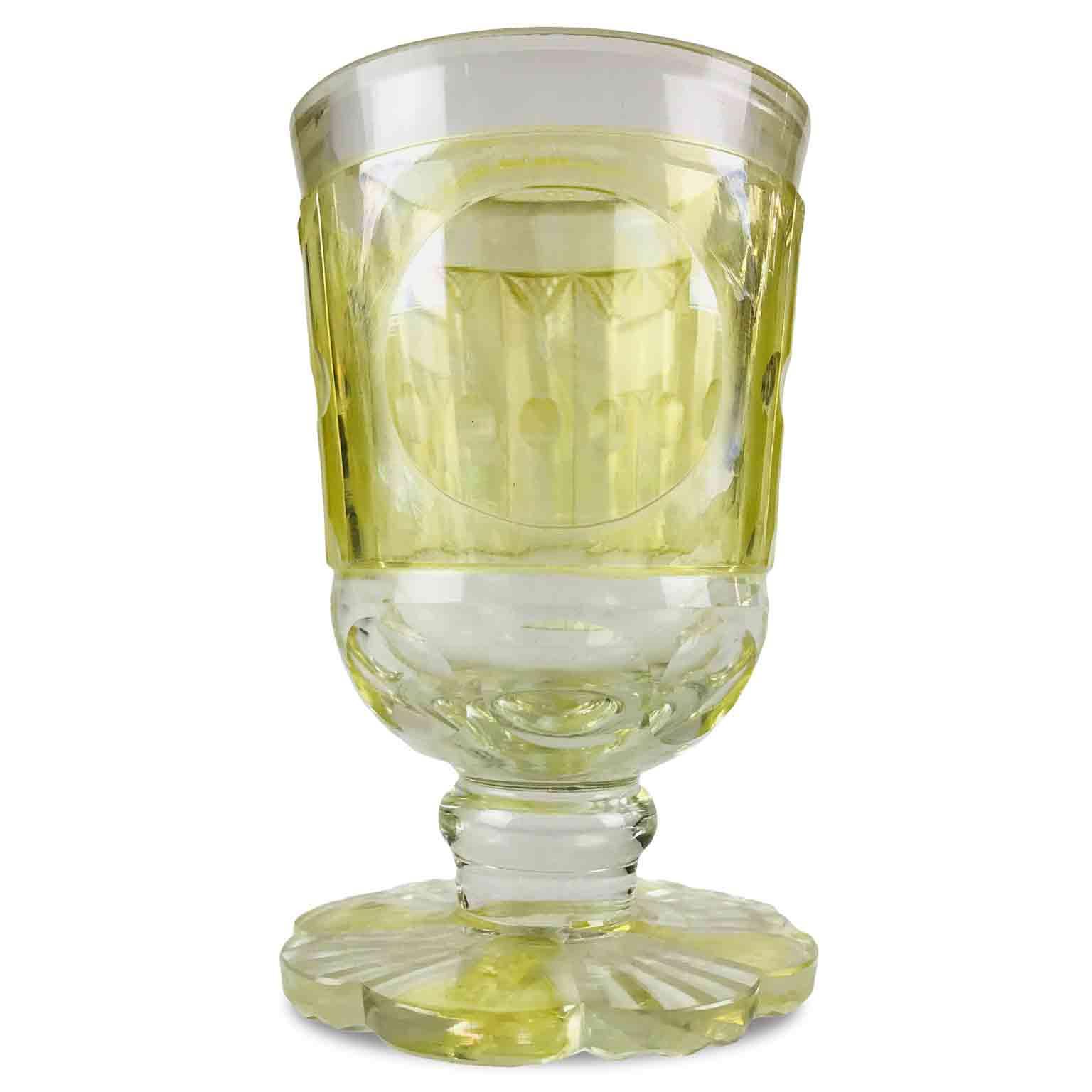 Bicchiere-Antico-all'Ossido-di-Uranio-