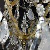 lampadario maria teresa in cristallo a 7 luci del 1950 i