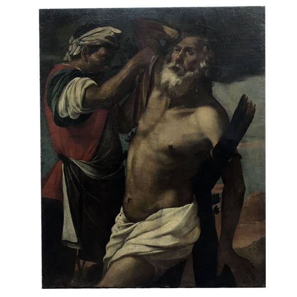 17th century Italian Martyrdom of Saint Andrew