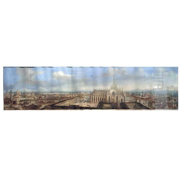 Veduta della Città di Milano 1855 circa