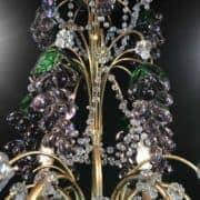 Coppia-di-Lampadari-con-Cristalli-e-Grappoli-d'Uva-8