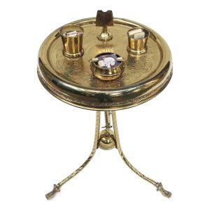 Tavolino-da-Fumo-in-Ottone-1950-circa
