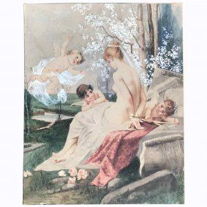 Paolo Sala Venere e Amorini 1920 circa