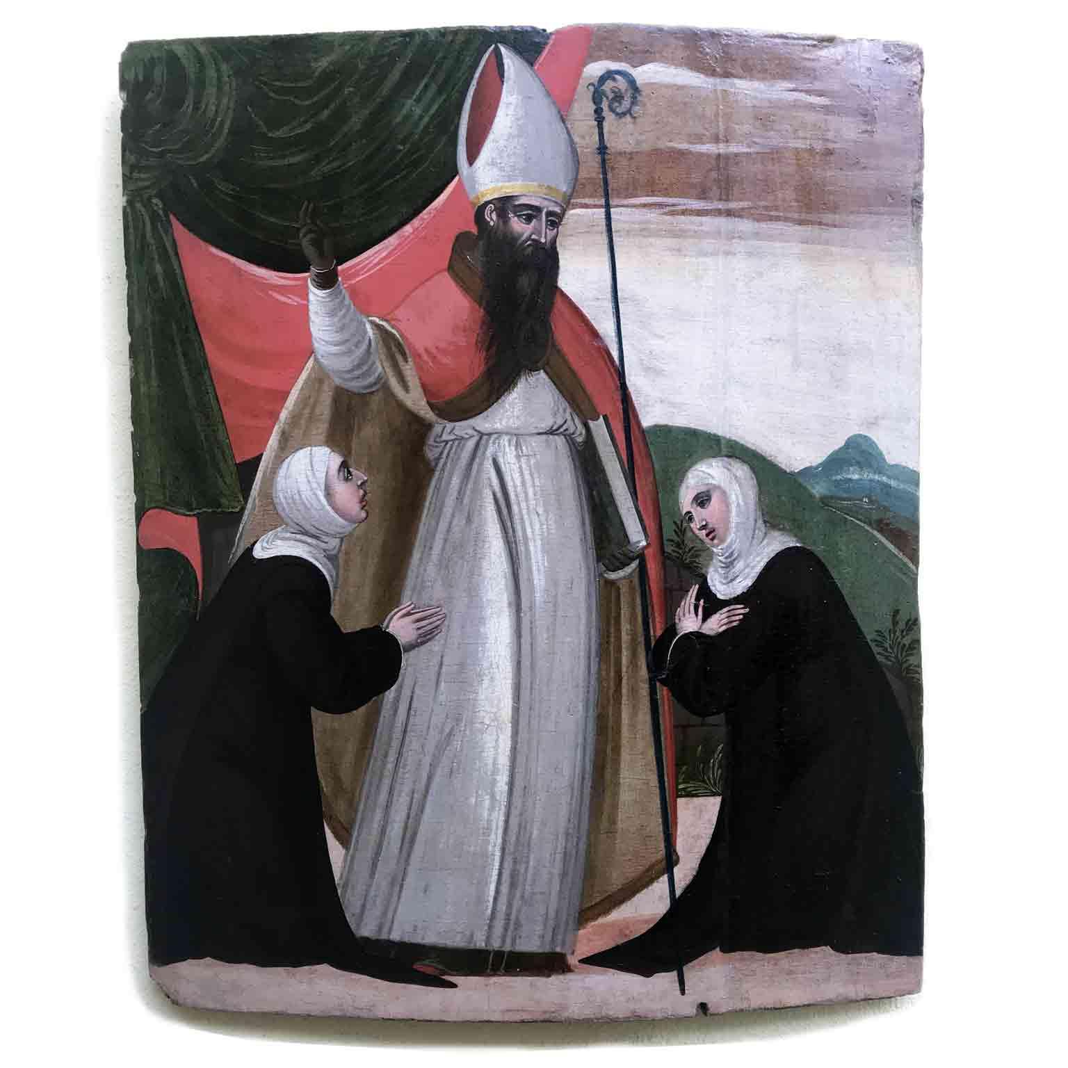 Dipinto antico religioso