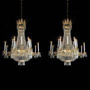 lampadari antichi cristallo