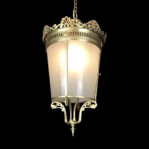 lanterna tonda bronzo firmata la carriére