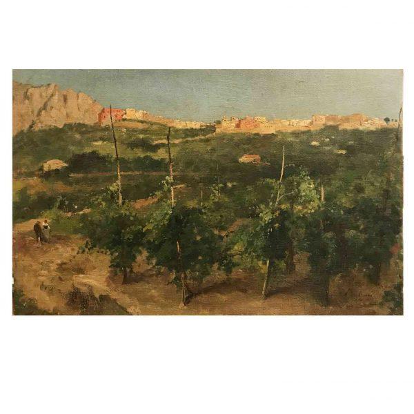 Alceste Campriani Capri 1887