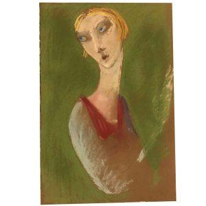 antonio vangelli ritratto di ragazza