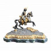 fusione-bronzo-cavaliere-e f