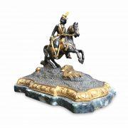 fusione bronzo cavaliere