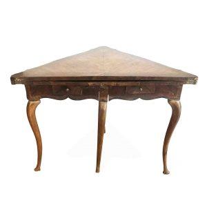 tavolo da gioco luigi XIV in palissandro 1700