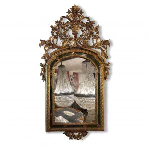 specchiera dorata piemontese del settecento