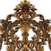 specchiera dorata piemontese del settecento c