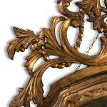 specchiera dorata piemontese del settecento b