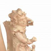 centrotavola antico con nani festanti ceramica d'este f