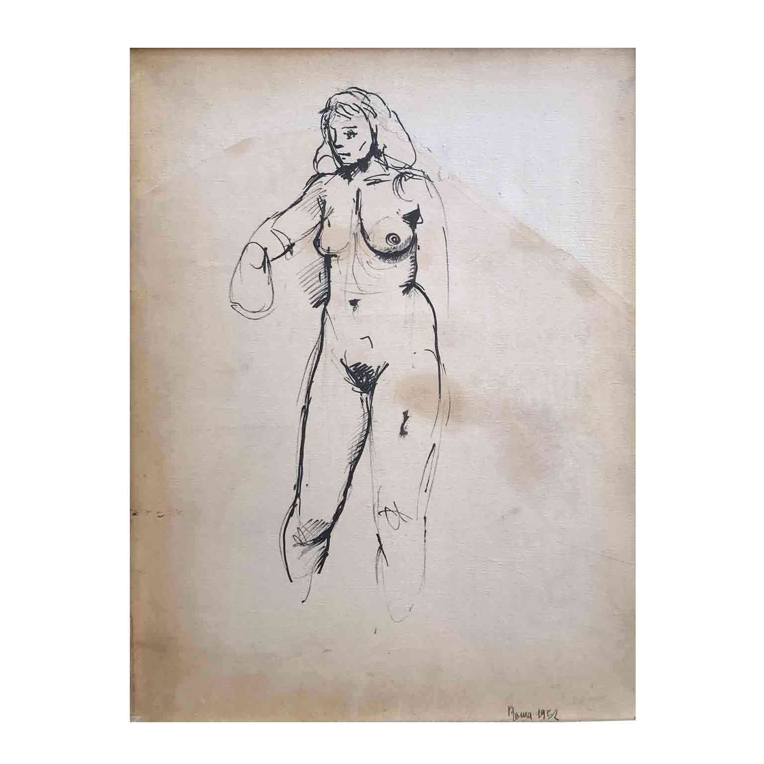 renato guttuso nudo di donna