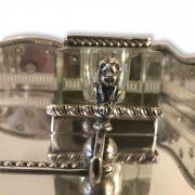 calamaio in argento inglese rima metà 1900 a