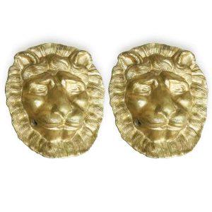 coppia-di-maschere-con-leoni-dorati-in-cartapesta-1800
