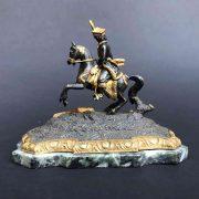 fusione-bronzo-cavaliere-a