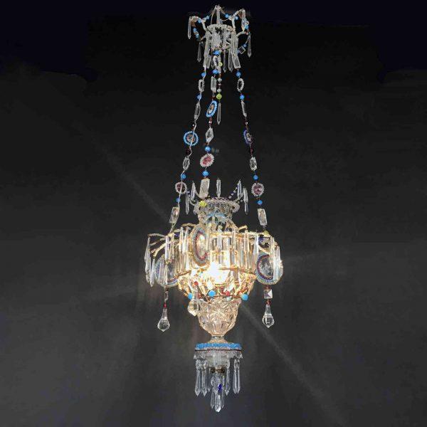 Lanterna in Cristallo Marchigiana inizi 1900