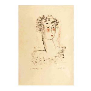 luigi veronesi ritratto di ragazza 1936
