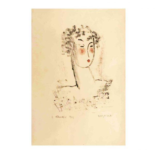 Luigi Veronesi  Ritratto di Ragazza  1932