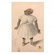 théodore maurisset caricatura di donna 1836