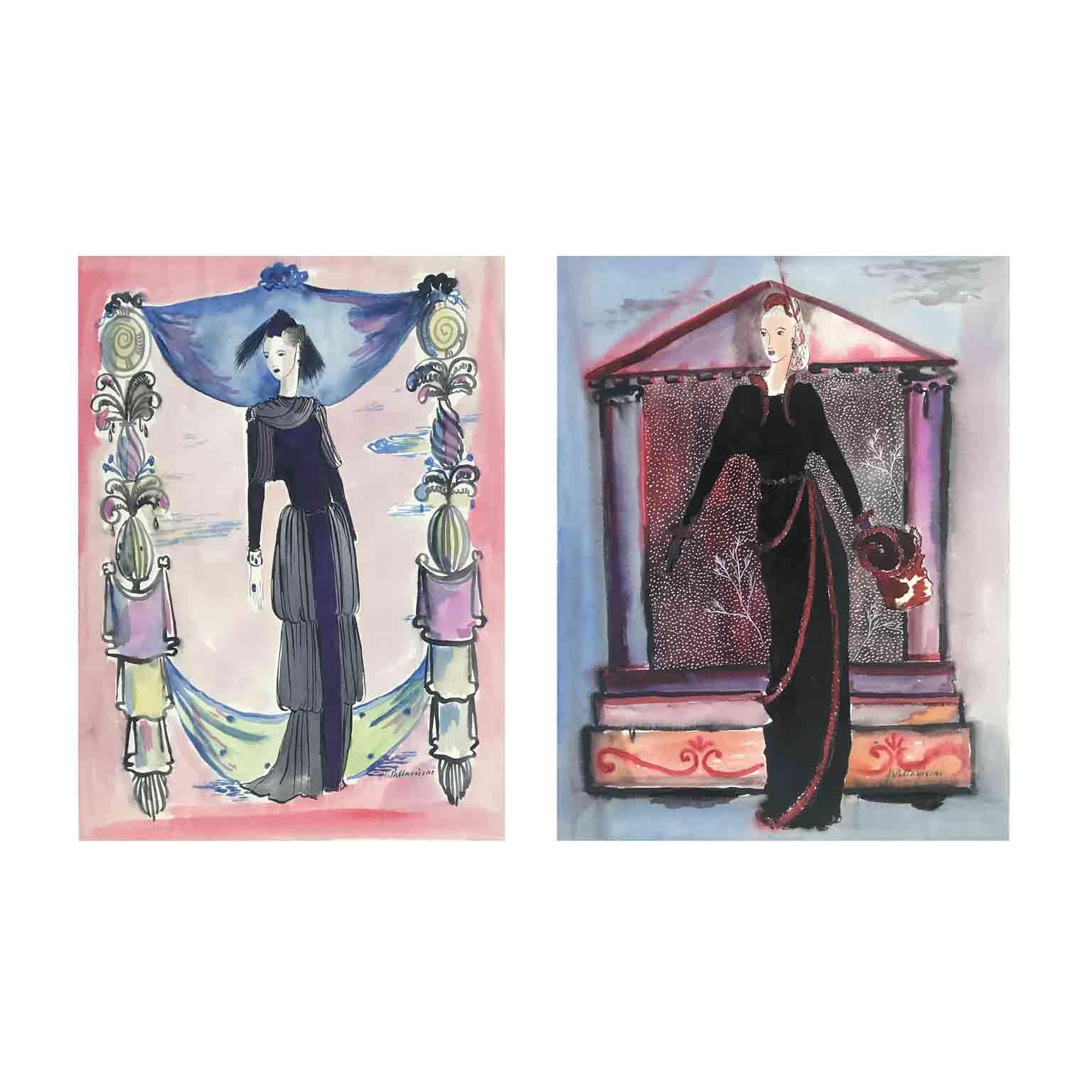 friedrich berzeviczy pallavicini disegni di moda
