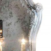 quattro appliques in vetro di murano con specchio molato d