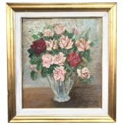 michele cascella vaso di fiori