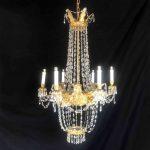 coppia-lampadari-impero-1800-a