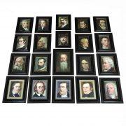 a. cartone galleria di compositori famosi