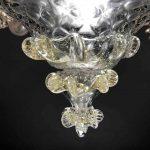 Lampadario in vetro soffiato di Murano 6