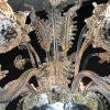 Lampadario in vetro soffiato di Murano 7