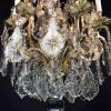 lampadario francese fine 1800 in cristallo f