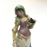 statuina in porcellana vecchia parigi c