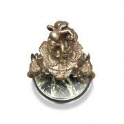 calamaio in bronzo primi 1900 l