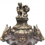 calamaio in bronzo primi 1900 a
