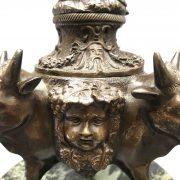 calamaio in bronzo primi 1900 c