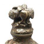 calamaio in bronzo primi 1900 e
