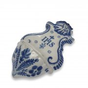 acquasantiera d'epoca in ceramica e