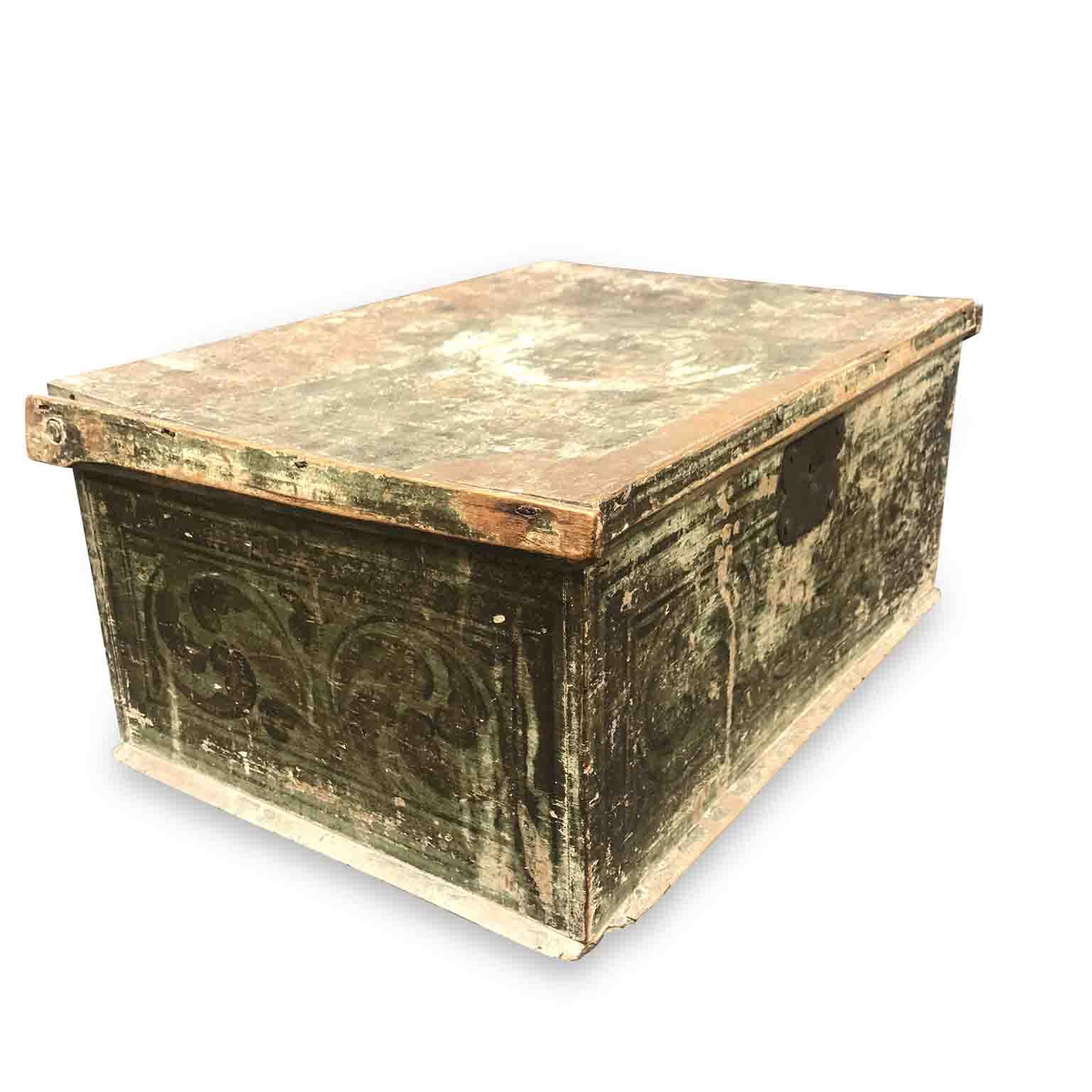 scatola laccata del settecento