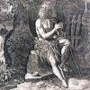 Sadeler incisione al bulino del 1598 a