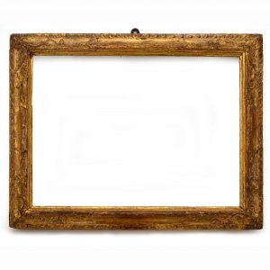 cornice in legno intagliato e dorato 1700 j