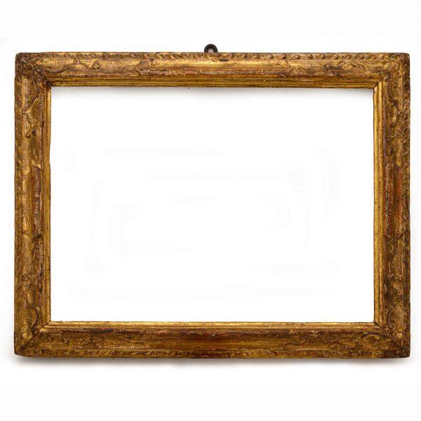 18th Century Italian Carved Gilt Wood Frame