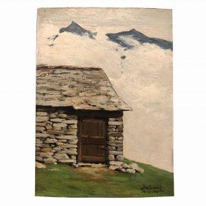 lorenzo delleani paesaggio di montagna