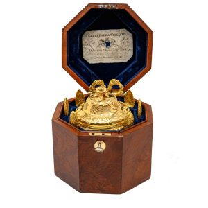 zuccheriera argento antico dorato londra 1836 zj