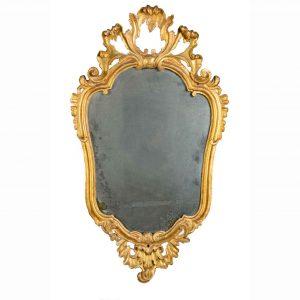 specchiera antica dorata 1700