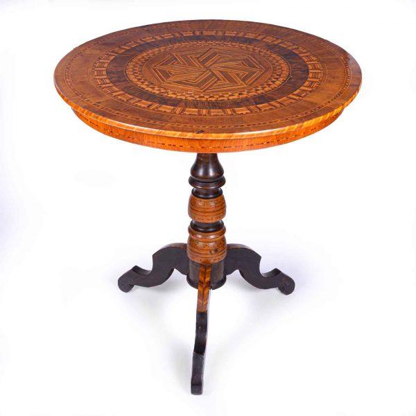 Tavolino da Salotto Intarsiato